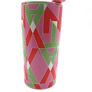 Teavana Ceramic Travel Mug with Lid Tea Tumbler 10